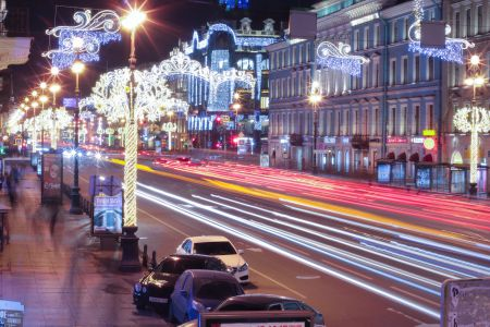 Nevskiy time freeze